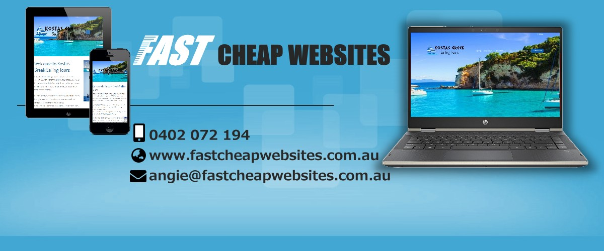 Fast Cheap websites