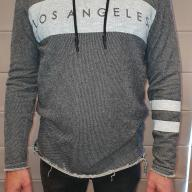Men's Dark Grey hoodie jumper