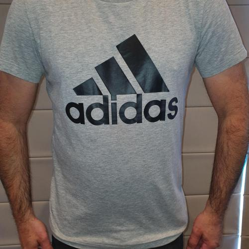 Men's Grey Adidas T-shirt