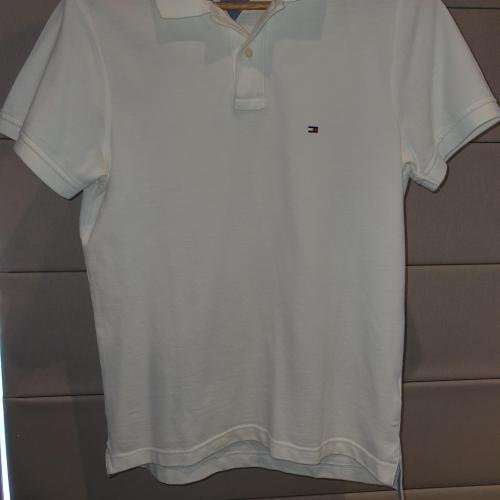 Men's Tommy Hilfiger Polo Top white slim fit