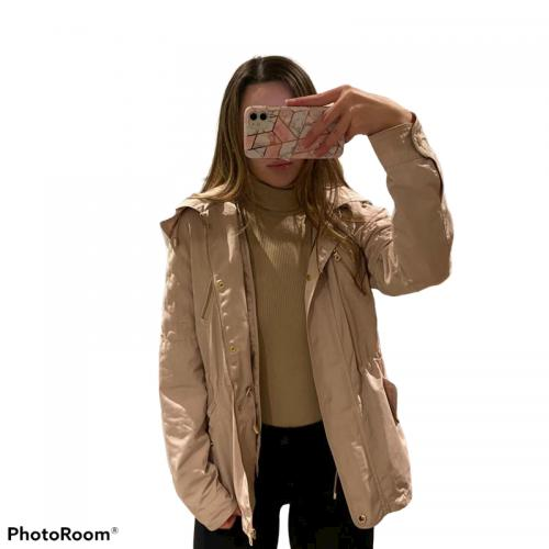 Women's Zara Beige Coat